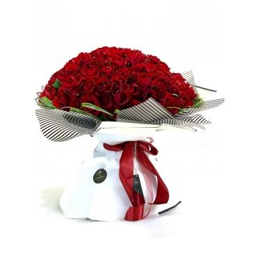 100 RED ROSES FV-0031
