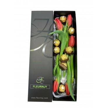 Tulips Tie Box FV-005