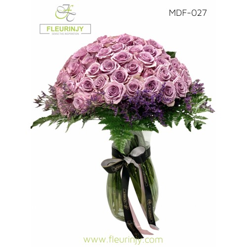 100 Lilac Roses MDF-027